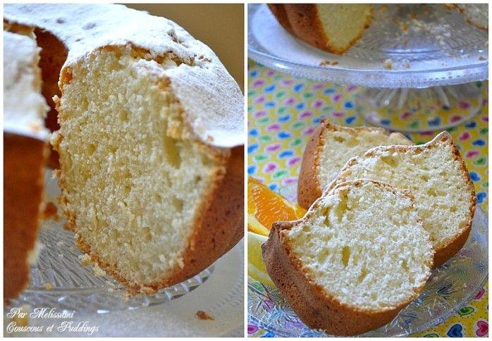 Cake au yaourt et zestes d'agrumes - Recette Choumicha - - Couscous et Puddings