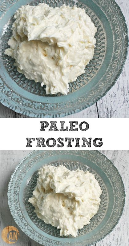 Paleo Frosting - super easy to make, is actually healthy and tastes like real buttercream frosting!