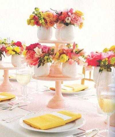 Martha Stewart Weddings: take-away centerpieces