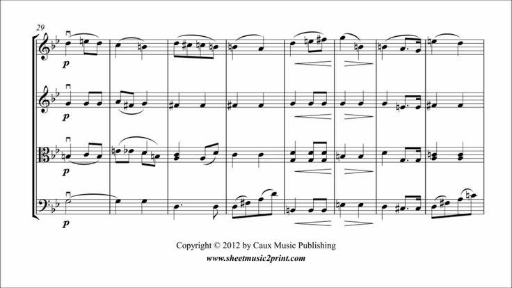 Wagner : Bridal Chorus - String Quartet www.sheetmusic2print.com/Wagner/String-Quartet/Bridal-Chorus.aspx