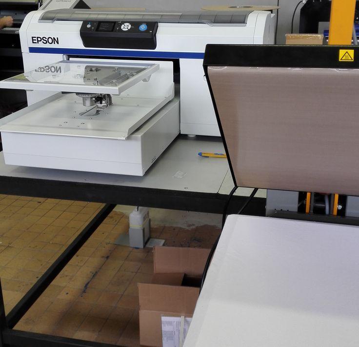 Tlačiareň na priamu potlač textilu