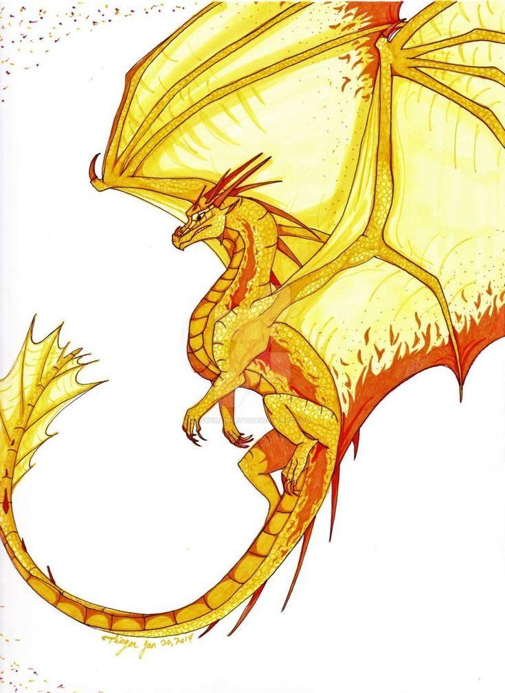 A Dragon Named Phoenix by SyfiraIngetti.deviantart.com on @DeviantArt