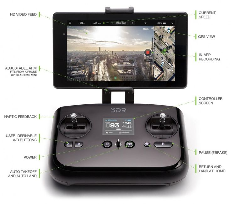 3DR Solo - Obchod s drony www.landofdrones.com #landofdrones #drone #drones #dron #drony #multicopters #multikoptery #uav #uavs