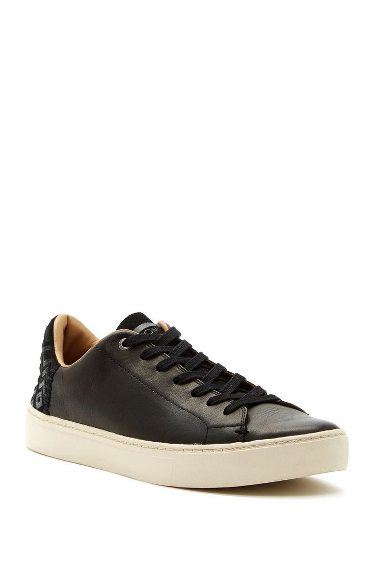 Lenox Chevron Lace-Up Sneaker