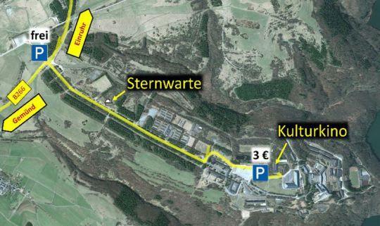 Sternenpark Nationalpark Eifel - Astronomie-Werkstatt Sterne ohne Grenzen. Rangertour oder geführte Wanderung mit einem Waldführer im Nationalpark Eifel ab 20 Euro pro Person