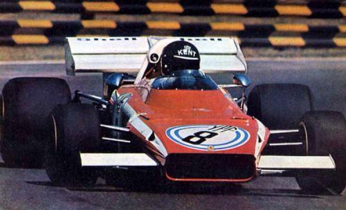 #8 Jacky Ickx (B) - Ferrari 312B2 (Ferrari F12) 3 (8) Scuderia Ferrari SpA Sefac
