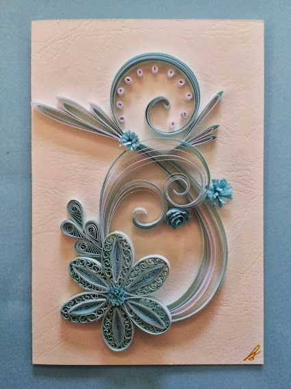 Biglietti Auguri Matrimonio Quilling : Best card compleanno quilling images on pinterest