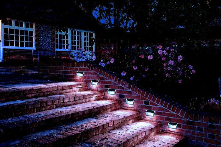 2 Шт./упак. LED Солнечный Свет Водонепроницаемый 2 Светодиодов Солнечные лестницы свет Сада Открытый Пейзаж Газон Лампа Солнечный Свет Стены купить на AliExpress