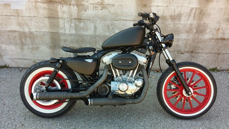 bloody mary rat rod bobber 2004 harley davidson sportster 883 see the build here https. Black Bedroom Furniture Sets. Home Design Ideas