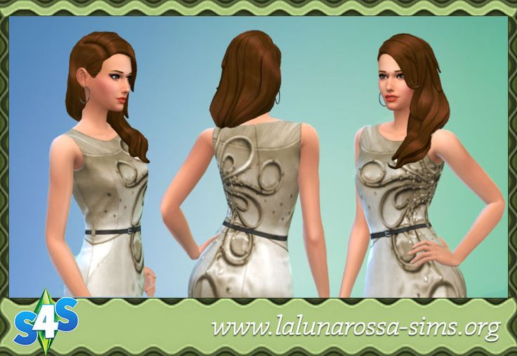 Classy Pencil Dress - LaLunaRossa and The Sims