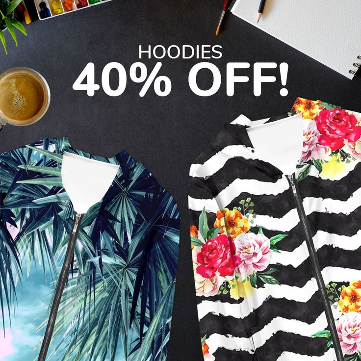 Only for 24 hours- all hoodies at Live Heroes ➡️40% OFF!