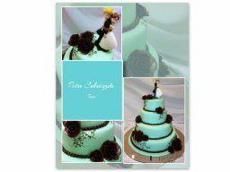 esküvői torta - wedding cake
