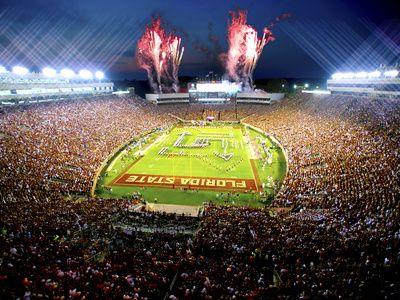 Florida State University - Florida State Football - Doak Campbell Stadium Print