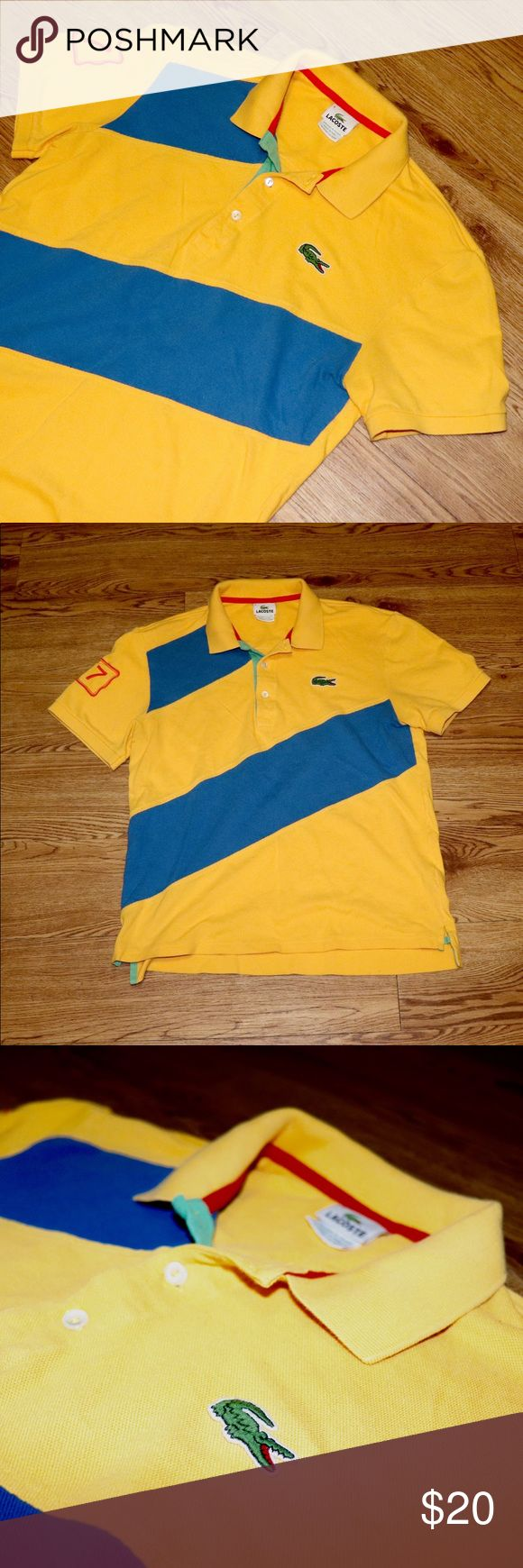 Vintage Lacoste Polo Shirt Vintage | 90's | Good Condition | Slight Fade Due To Age | Size Medium | Please Don't Lowball Lacoste Shirts Polos