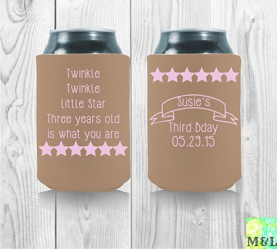 10 Best Images About Birthday Koozies On Pinterest