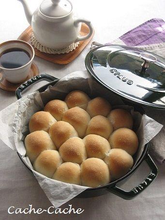 Cache-Cache+ : staubで 玄米ちぎりパン