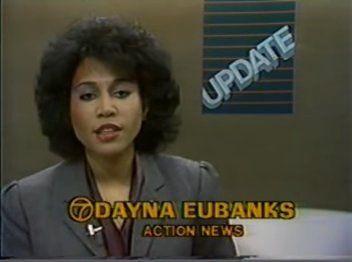 Dayna Eubanks   11 PM Action News (WXYZ-TV 7 Detroit; February 2, 1983)