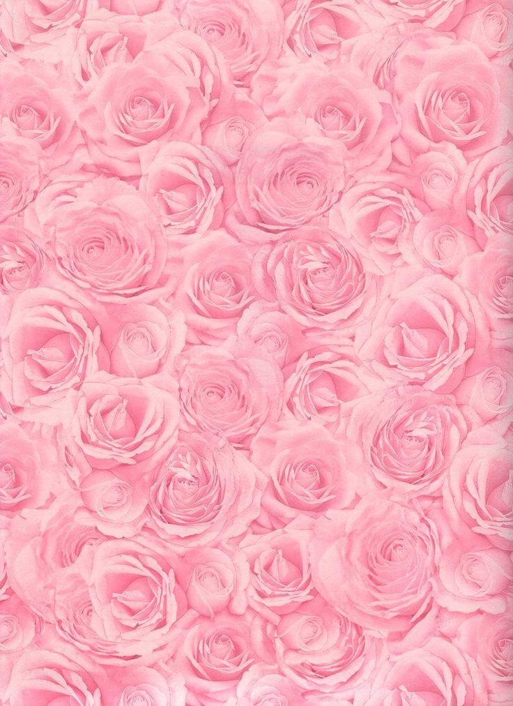 Light Pink Flowers Wallpaper Floral Wallpapers