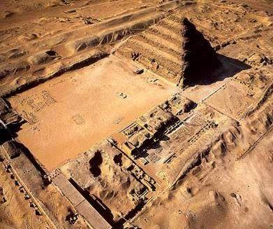 The Step Pyramid of Djoser at Saqqara