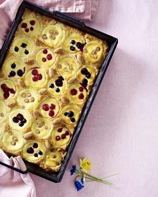 Johannisbeer-Frischkäse-Kuchen