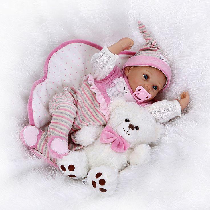 doll reborn girl Baby reborn babies realistic doll vinyl toys newborn Christmas handmade toys doll reborn