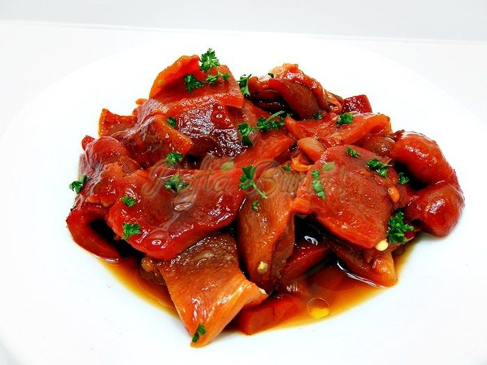 Salata de ardei copti | Pofta Buna!