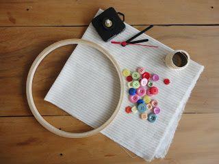 Doce Quilt: Vamos fazer um relógio de parede craft ??