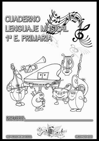 Iniciación al Lenguaje musical. Primero de Primaria. 4, 5 ó 6 años