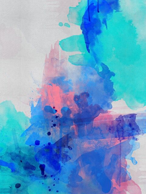 Clear Reef :  abstract art by Lindsay Blamey