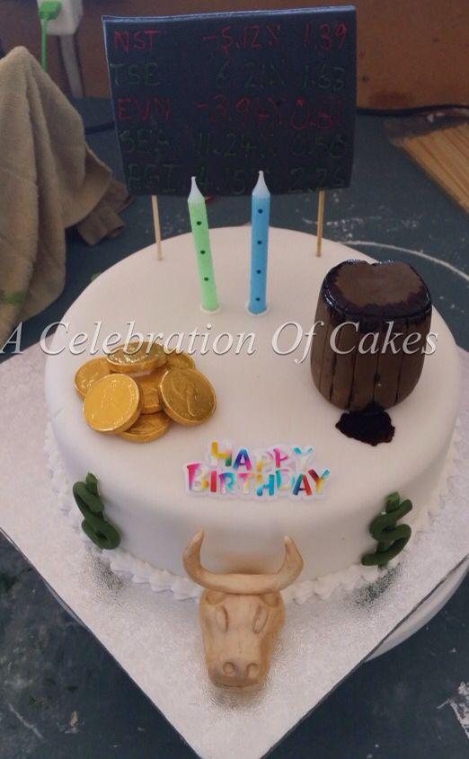 Stock Market Cake