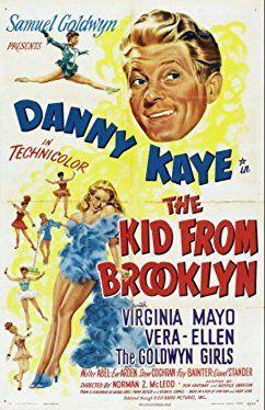Eve Arden, Danny Kaye, Walter Abel, Fay Bainter, Steve Cochran, Virginia Mayo, Lionel Stander, Vera-Ellen, and The Goldwyn Girls in The Kid from Brooklyn (1946)