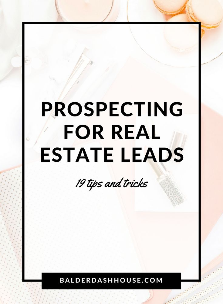 172 best prospecting lead generation tips for real for Floor plans for real estate marketing