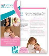 Breast Cancer Brochure Template Jeppefmtk - Breast cancer brochure template