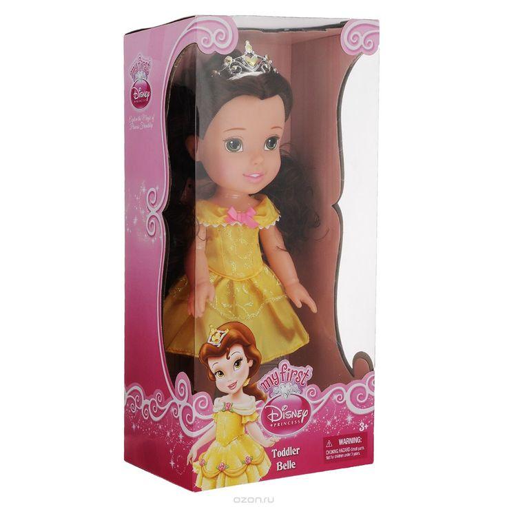 Купить disney fairies кукла my first disney princess малышка белль - детские товары Disney Princess в интернет-магазине OZON.ru, цена disney fairies кукла my first disney princess малышка белль.