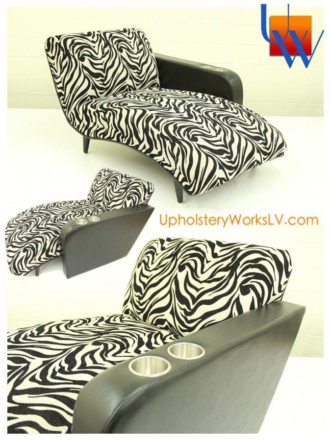 Captivating Custom Zebra Chair With Custom Arm By Upholstery Works. Las Vegas, NV Http:
