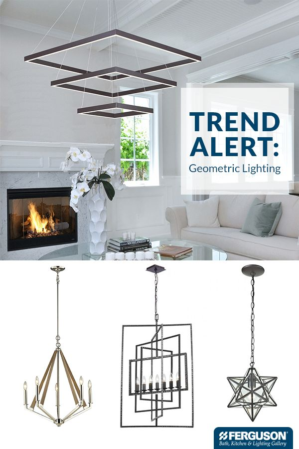 Update any space in your home with an on trend lighting fixture right now