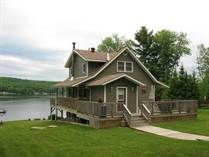 Stunning Baptiste Lake Home or Cottage has South View