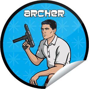 ORIGINALS BY ITALIA's Archer Episode 13 Sticker | GetGlue