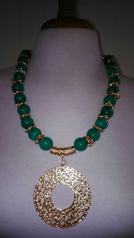 Collar En Jade Collares Pinterest Jade And Collars