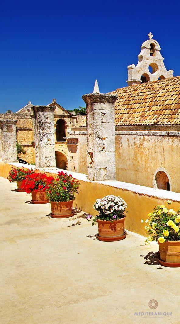 Arkadi Monastery, Crete island, Greece.