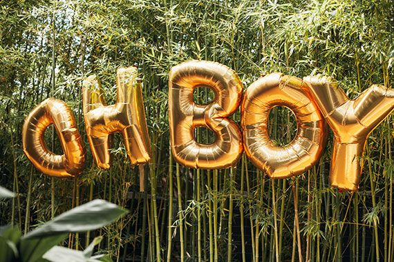 Austin boy's baby shower by The Nouveau Romantics | 100 Layer Cakelet