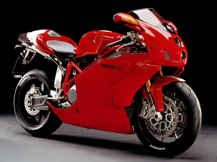 One of the most beautiful bikes in the world. Ducati 999R '05