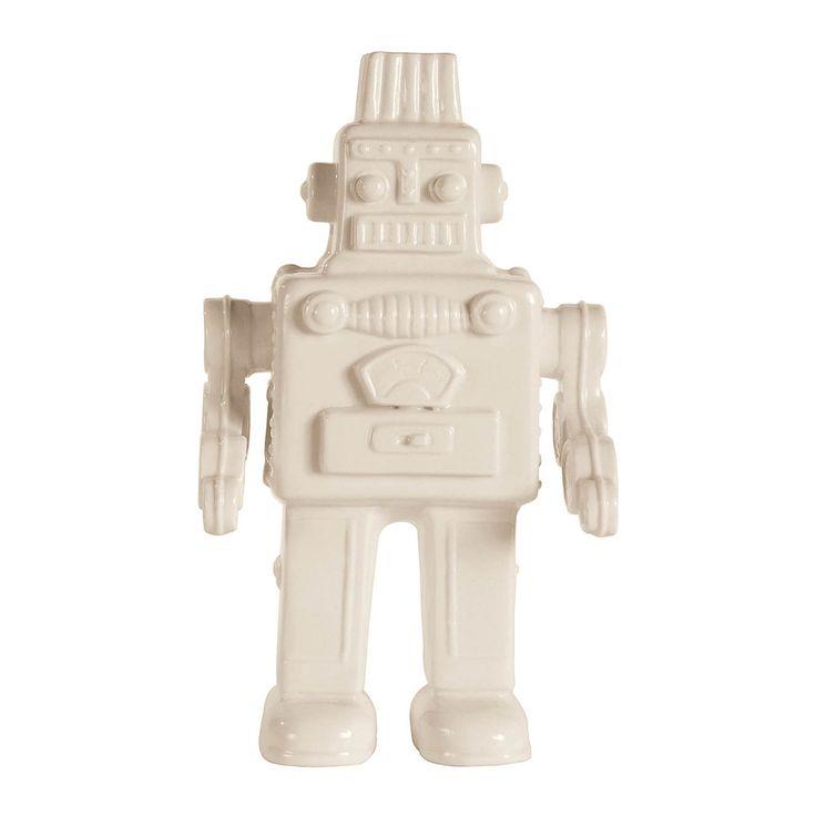 Seletti Memorabilia Porcelain My Robot Figurine & Reviews | Wayfair