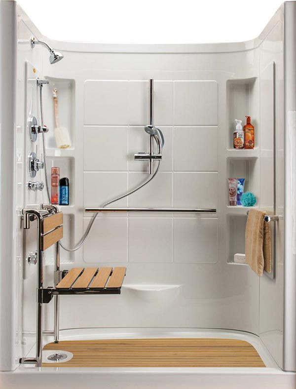 Designed For Seniors Hydrotherapy Walk In Shower Get Pain Relieving Plus Many Built Safety Features T Helpful Products