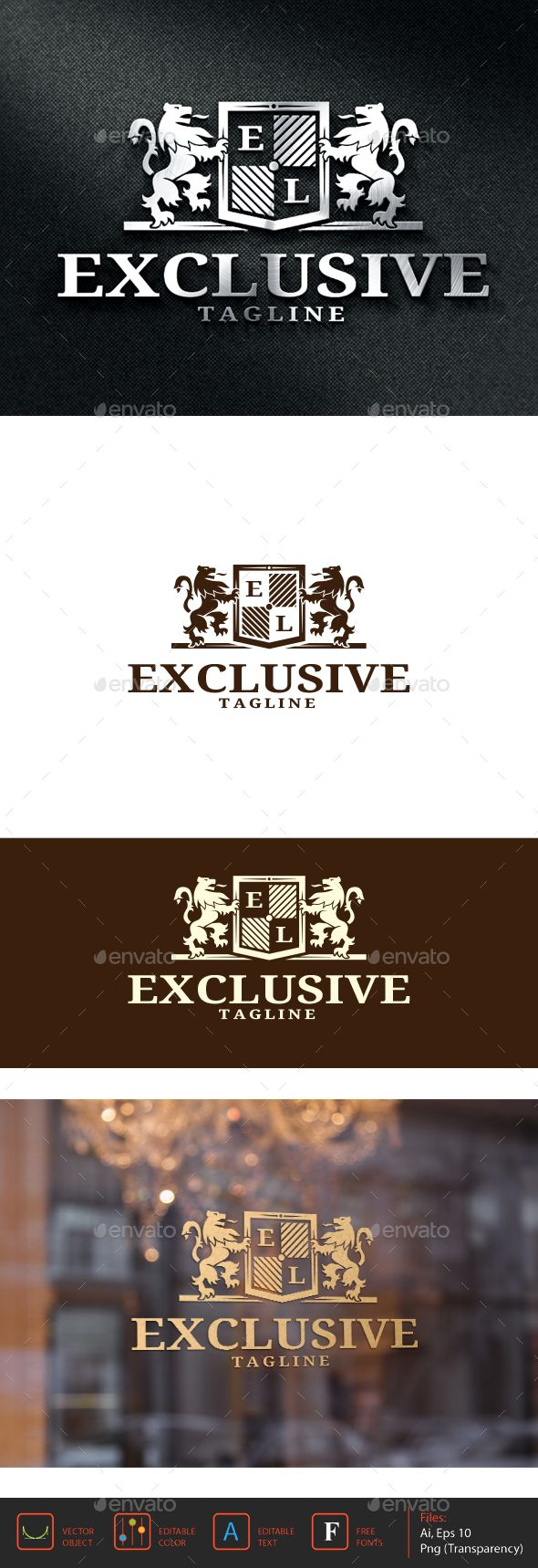 919 best fashion logo template images on pinterest logo templates exclusive logo template thecheapjerseys Gallery