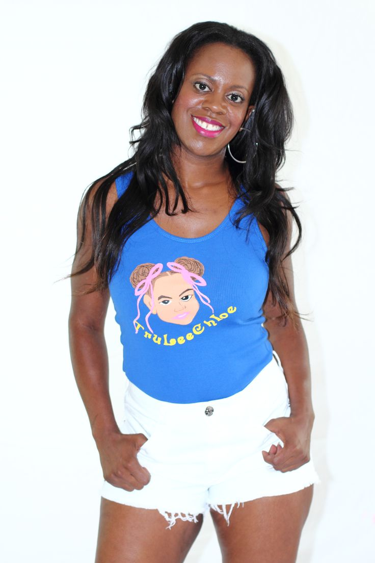 TruLeeChloe Tank (Blue) - $22.00 | Sizes: S, M, L, XL