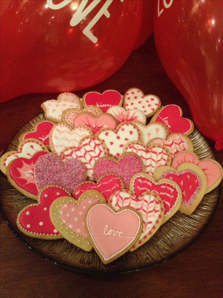 Valentine Day Cookies 2016 ❤️❤️❤️