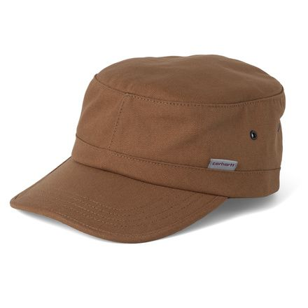Cotton canvas Carhartt cap in Carhartt Brown