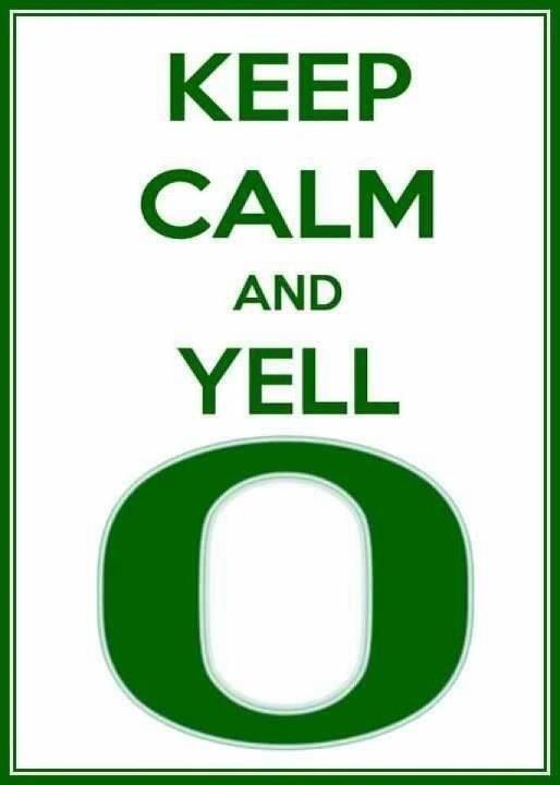 The Oregon Ducks ; )