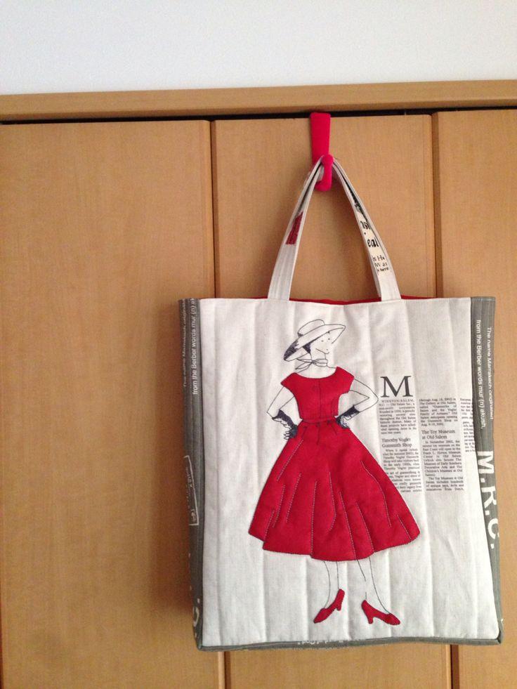小関先生のキットのモードなバッグ。 Suzuko Koseki